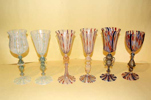 Goblets of Murano, zanfirici